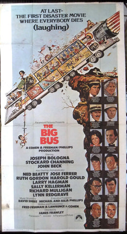THE BIG BUS 3sh Poster
