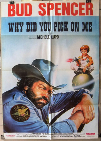 WHY YOU DID YOU PICK ON ME? Poster 70s