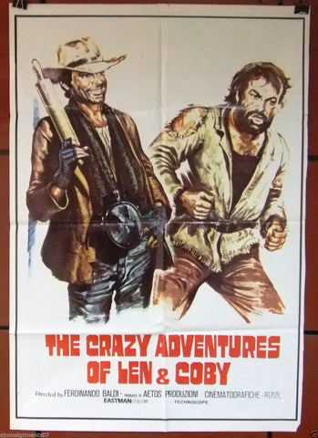 CRAZY ADVENTURES OF LEN AND COBY, The Poster