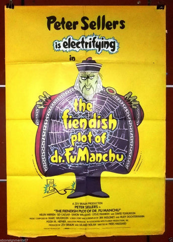The Fiendish Plot of Dr.Fu Manchu Poster