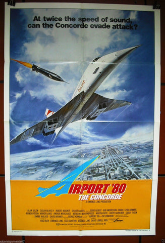Airport 80 Concorde Poster