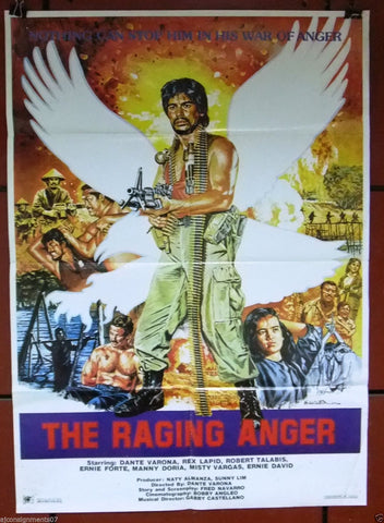The Raging Anger Poster