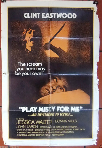 Play Misty for Me Poster