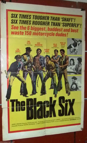 The Black 6 Six Poster
