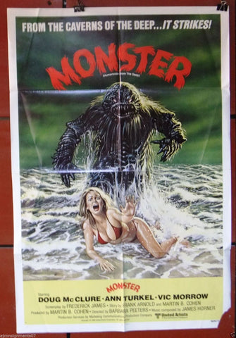 Humanoids From The Deep, Monster Poster