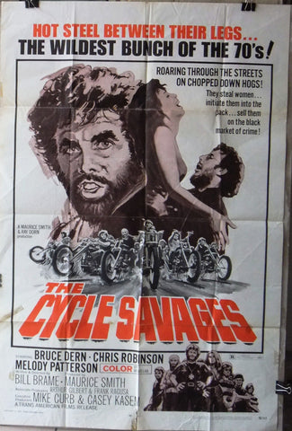 Cycle Savages Poster