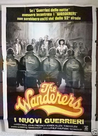 THE WANDERERS I Nuovi Guerrieri 4F Poster