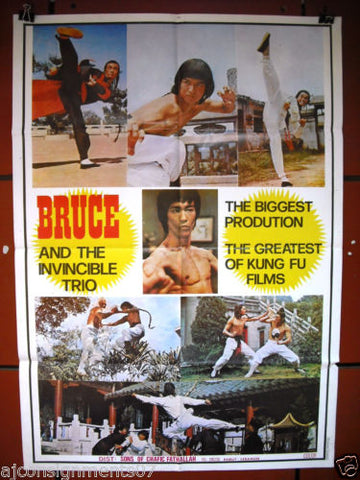 Bruce and The Invincible Trio Poster