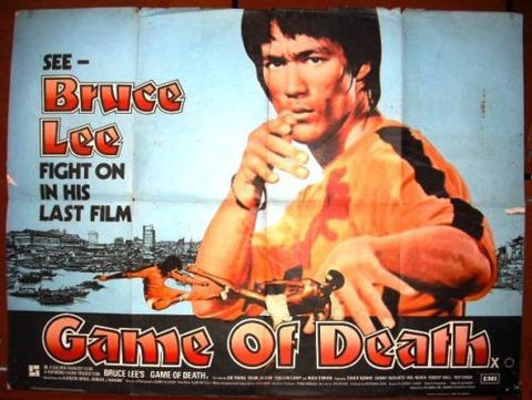 Game of Death Quad Poster