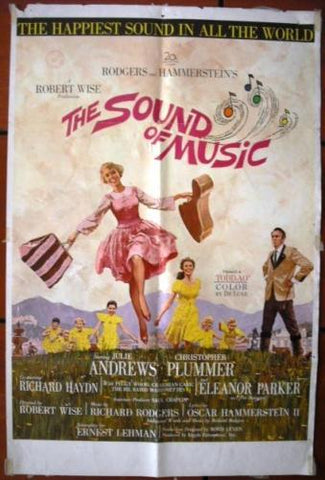THE SOUND OF MUSIC 1SHT Poster