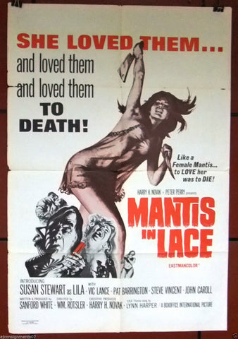 Mantis In Lace Poster