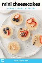 Dairy-Free Mini Cheesecakes Made With JOI
