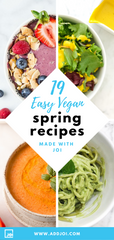 19 Vegan Spring Recipes Made with JOI for Healthier Eating All Day Long