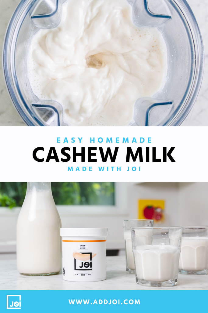How To Make Cashew Milk At Home