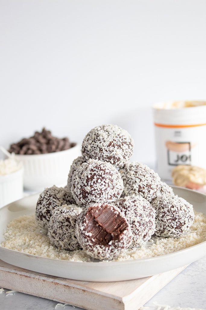 Coconut Chocolate Truffles made with JOI