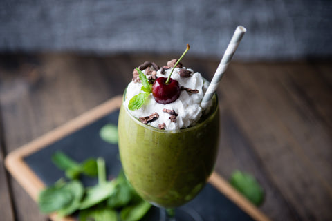 Peppermint Patty Smoothie For A Green St Patrick S Day Joi