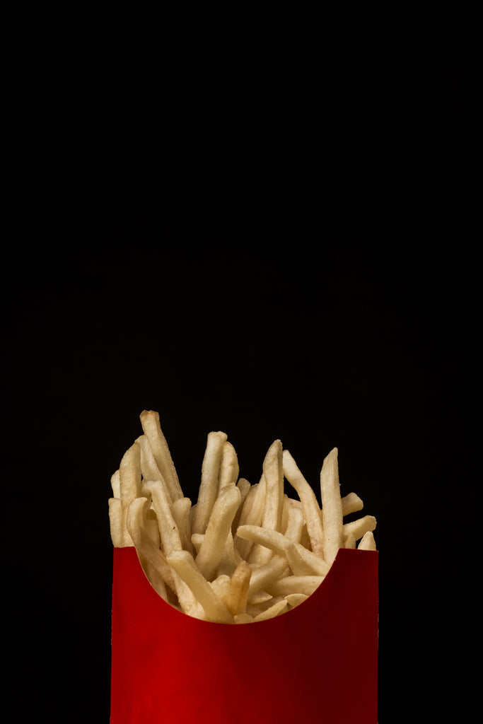 french fries not so happy food