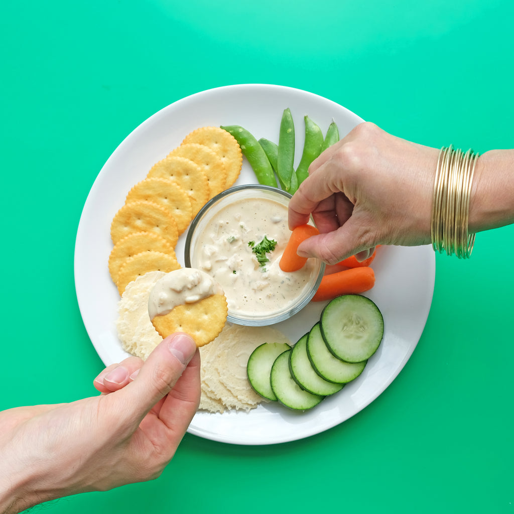 French Onion Dip Made with JOI