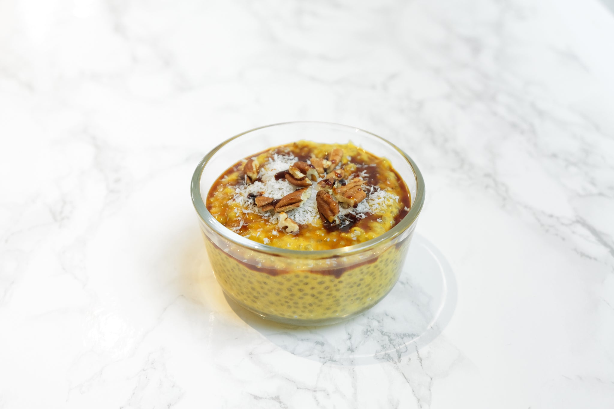 Dairy-Free and Vegan Pumpkin Pie Chia Pudding made with JOI