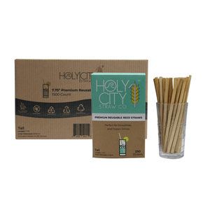 Reusable Reed Straws