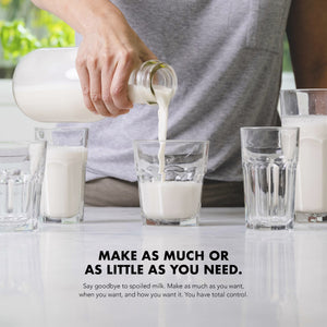 JOI Nutbase | Plant Base - Just One Ingredient, Homemade Plant-Based Milk in Just 30 Seconds. Make as much or as little as you need, have total control