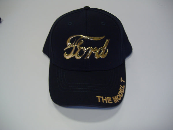Brass Ford Logo Hat - Black