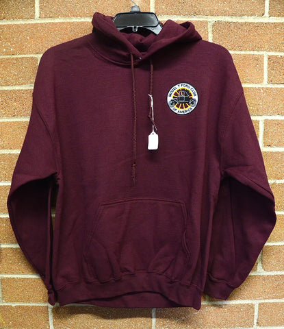 MTFCA logo Hooded Sweatshirt-Maroon
