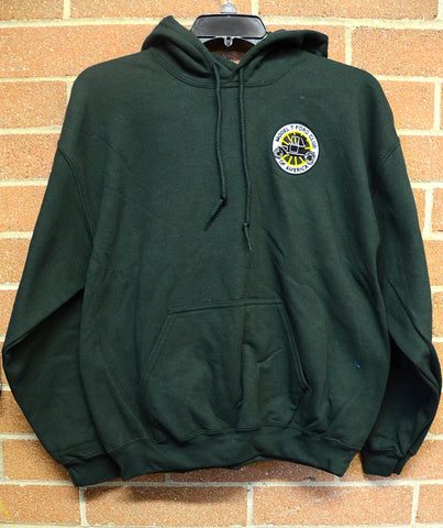 MTFCA logo Hooded Sweatshirt-Green