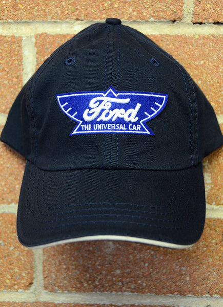 "Ford ""Winged Logo"" Hat--Dark Navy"