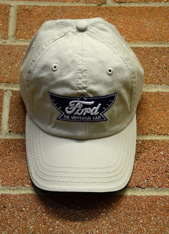 "Ford ""Winged Logo"" Hat--Light Khaki"