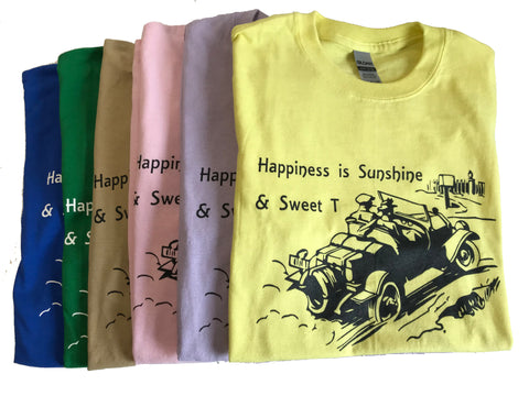 Happiness Is Sunshine & Sweet T T-shirt