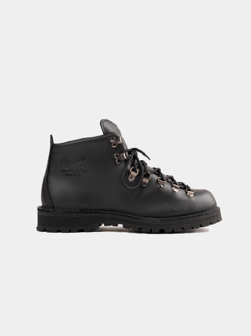mountain lite, hiking boots, black leather, danner