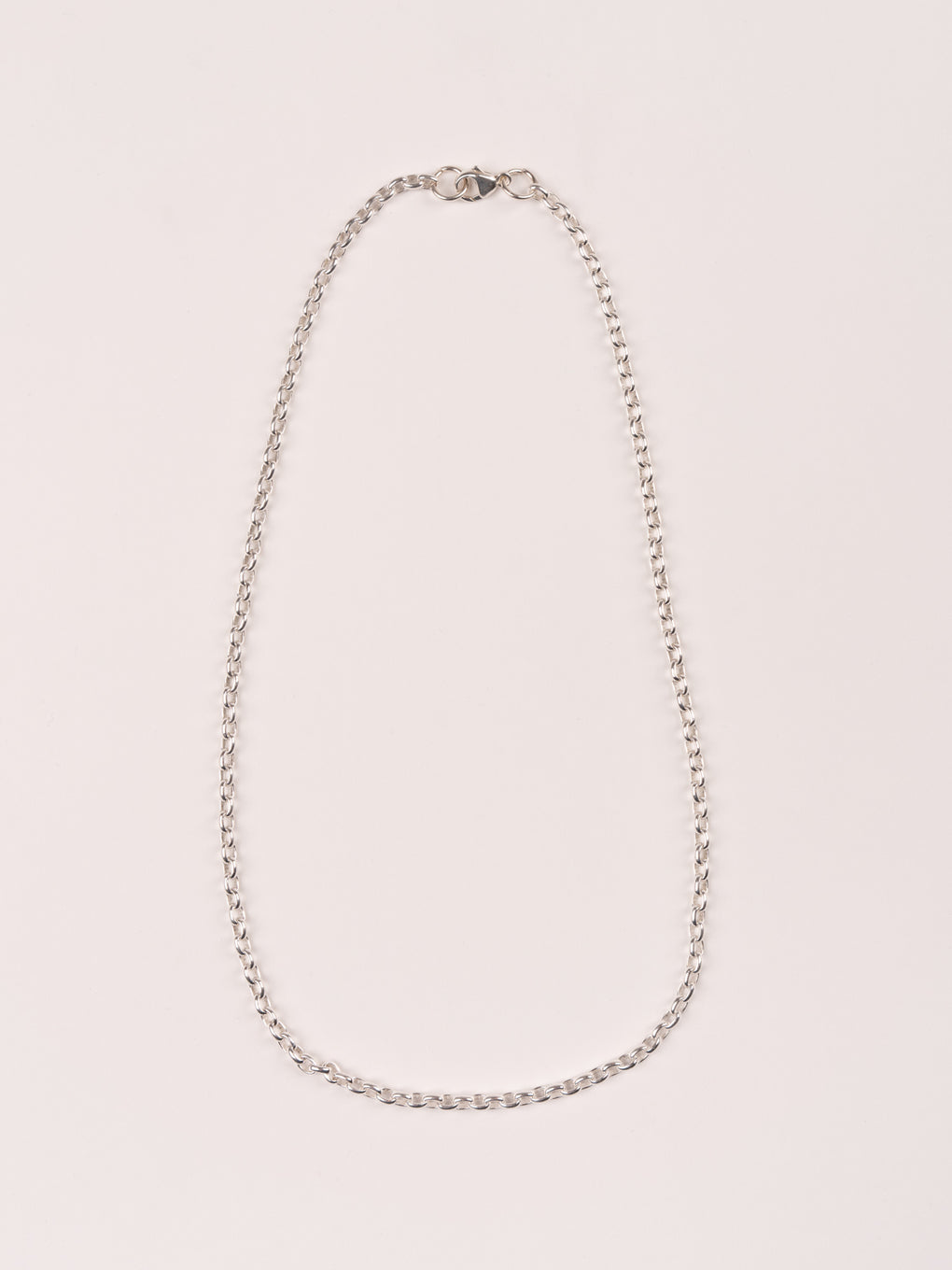 mens jewerly, rolo chain, silver - MAPLE