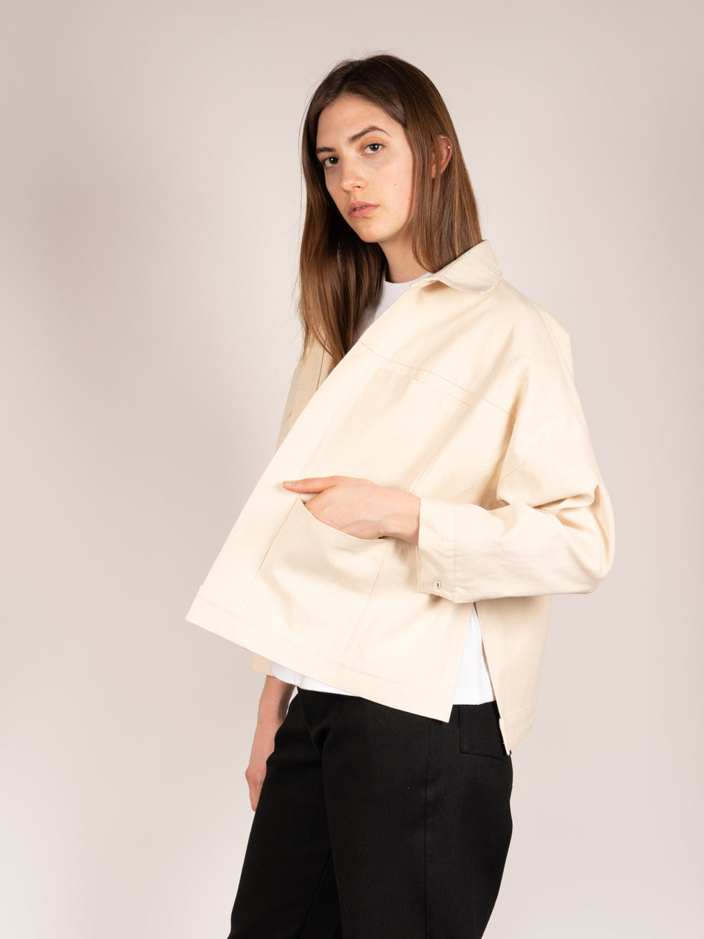 Box Jacket Cream