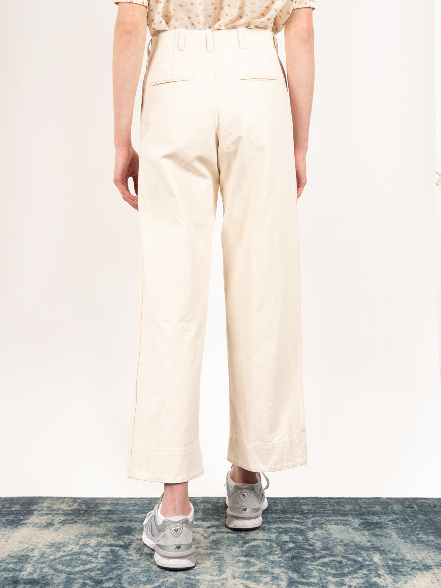 Greene Pant Cream Canvas