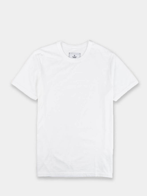 Knit Jersey SS 2-Pack Tee White