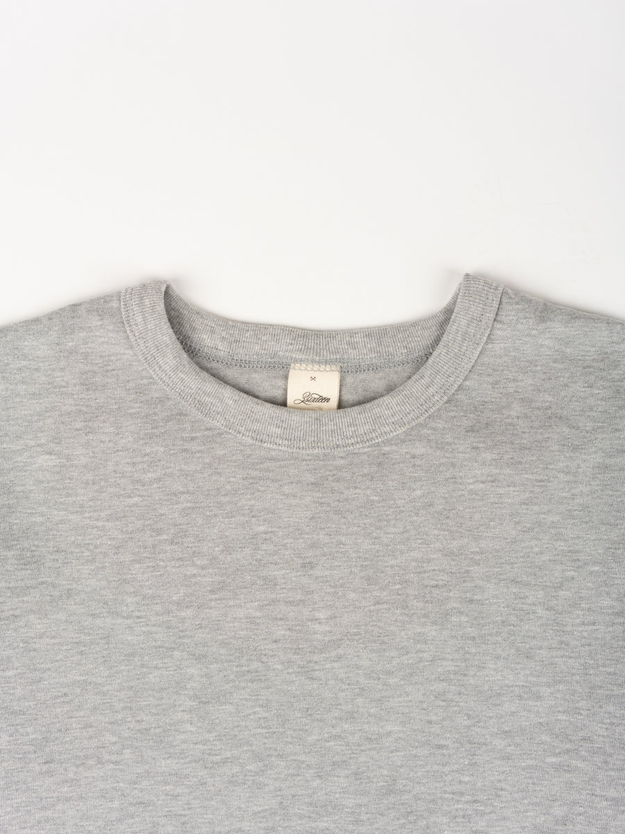Heavyweight Plain T-Shirt Grey