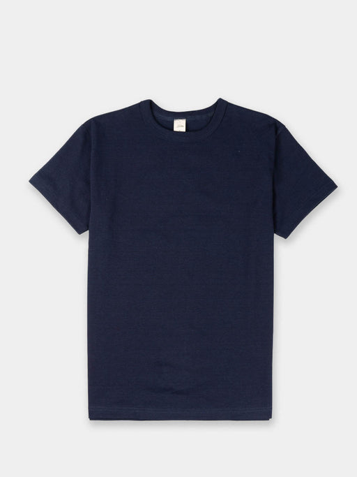 heavyweight tee,mens t-shirt, indigo dyed, 3sixteen