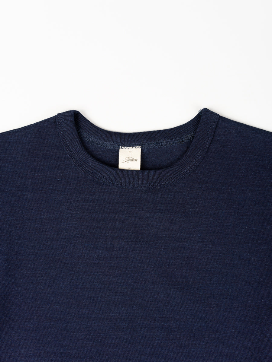 Heavyweight Plain T-Shirt Indigo