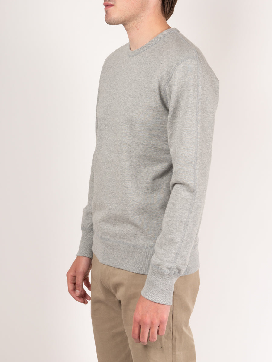 Midweight Terry Long Sleeve Crewneck Heather Grey