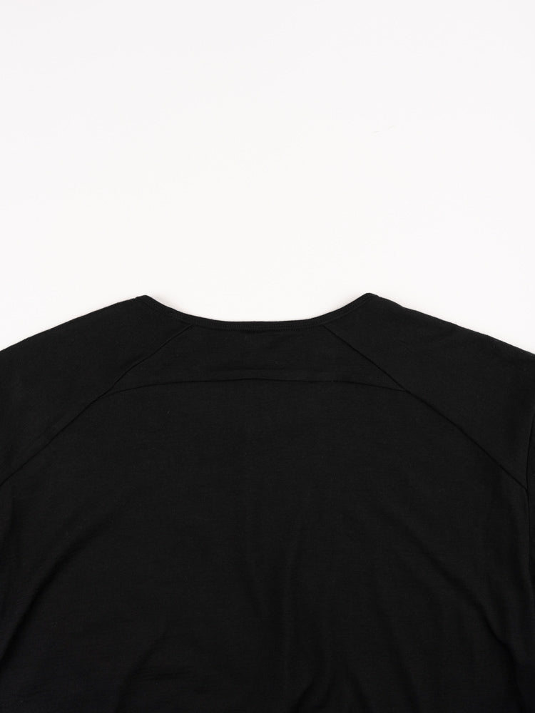 Frame LS Shirt Black