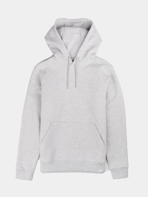 vagn classic hoodie, light grey melange, norse projects