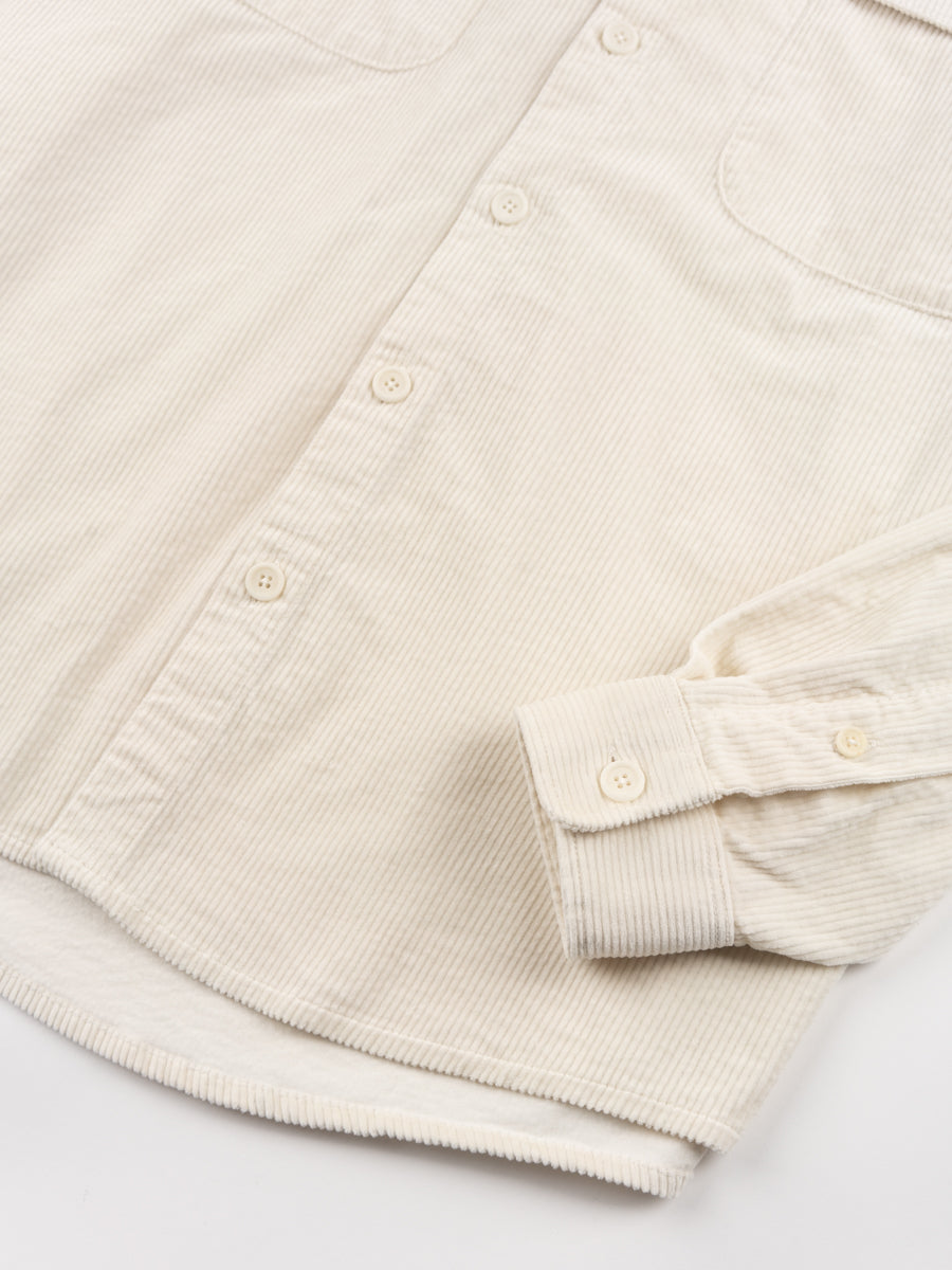 shirt boxy, cord, off white, schnayderman's, cuff detail