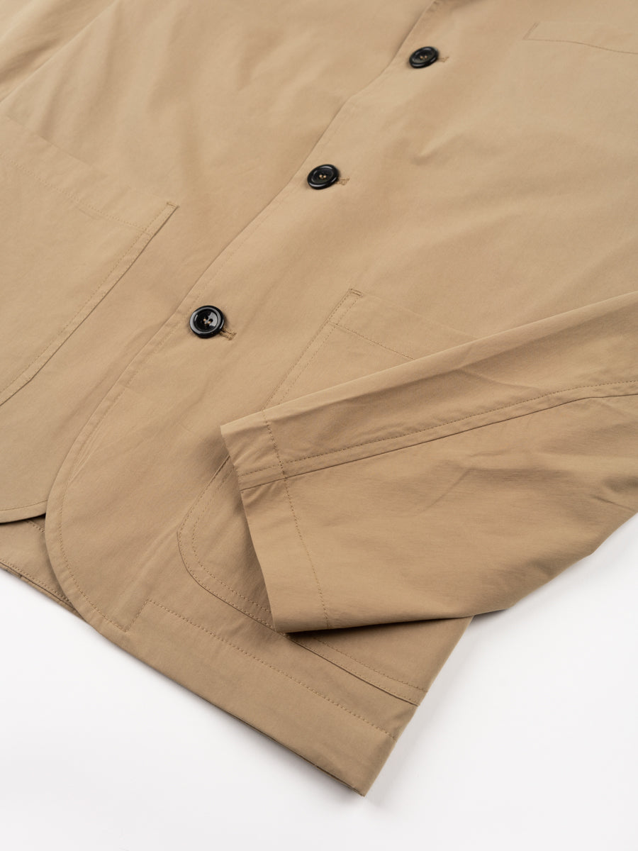 lars packable jacket, utility khaki, norse projects, cuff detail