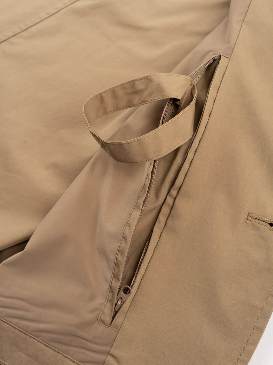 lars packable jacket, utility khaki, norse projects, packable compartment pocket