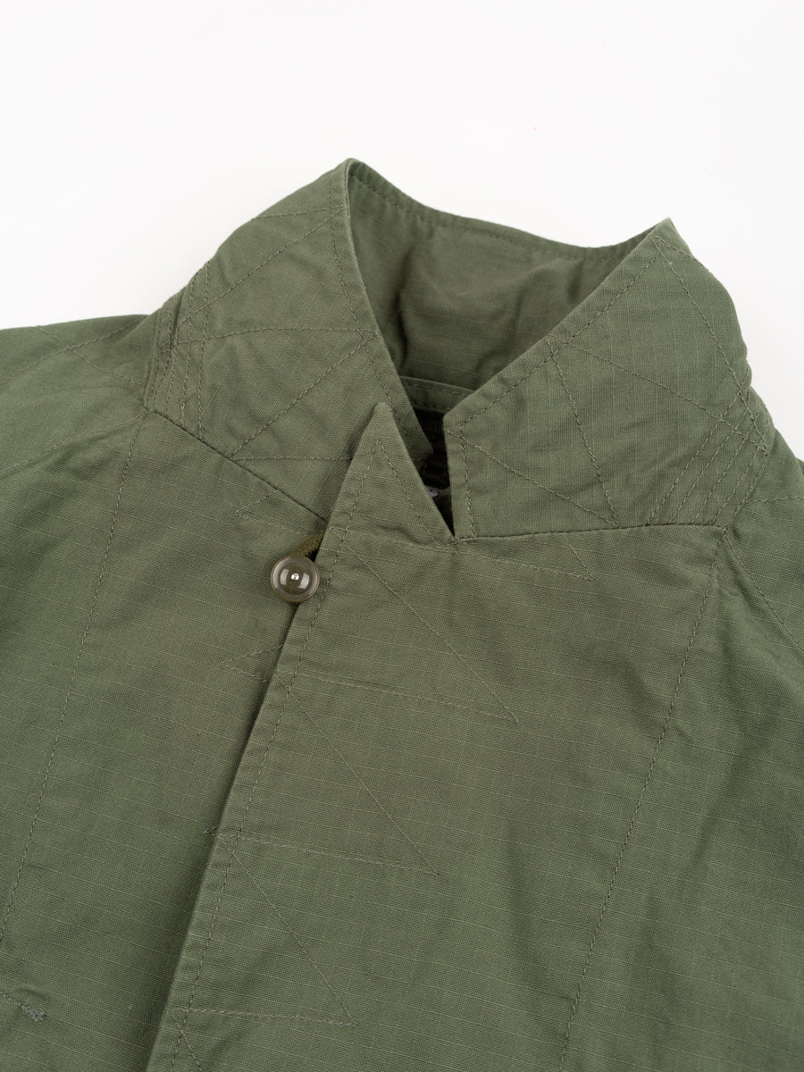 Bedford Jacket Olive Cotton Ripstop