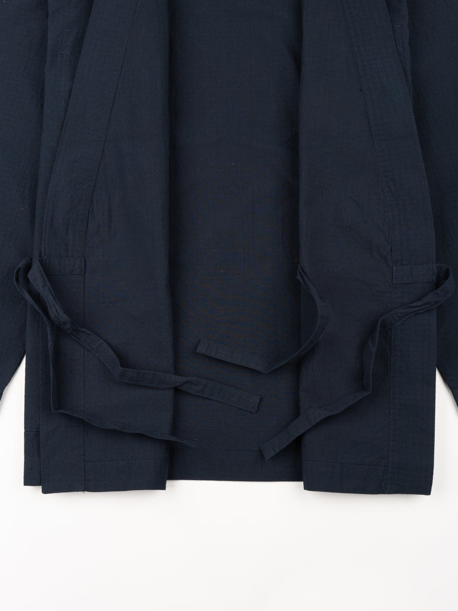 Kyoto Work Jacket Navy Cotton Ripstop