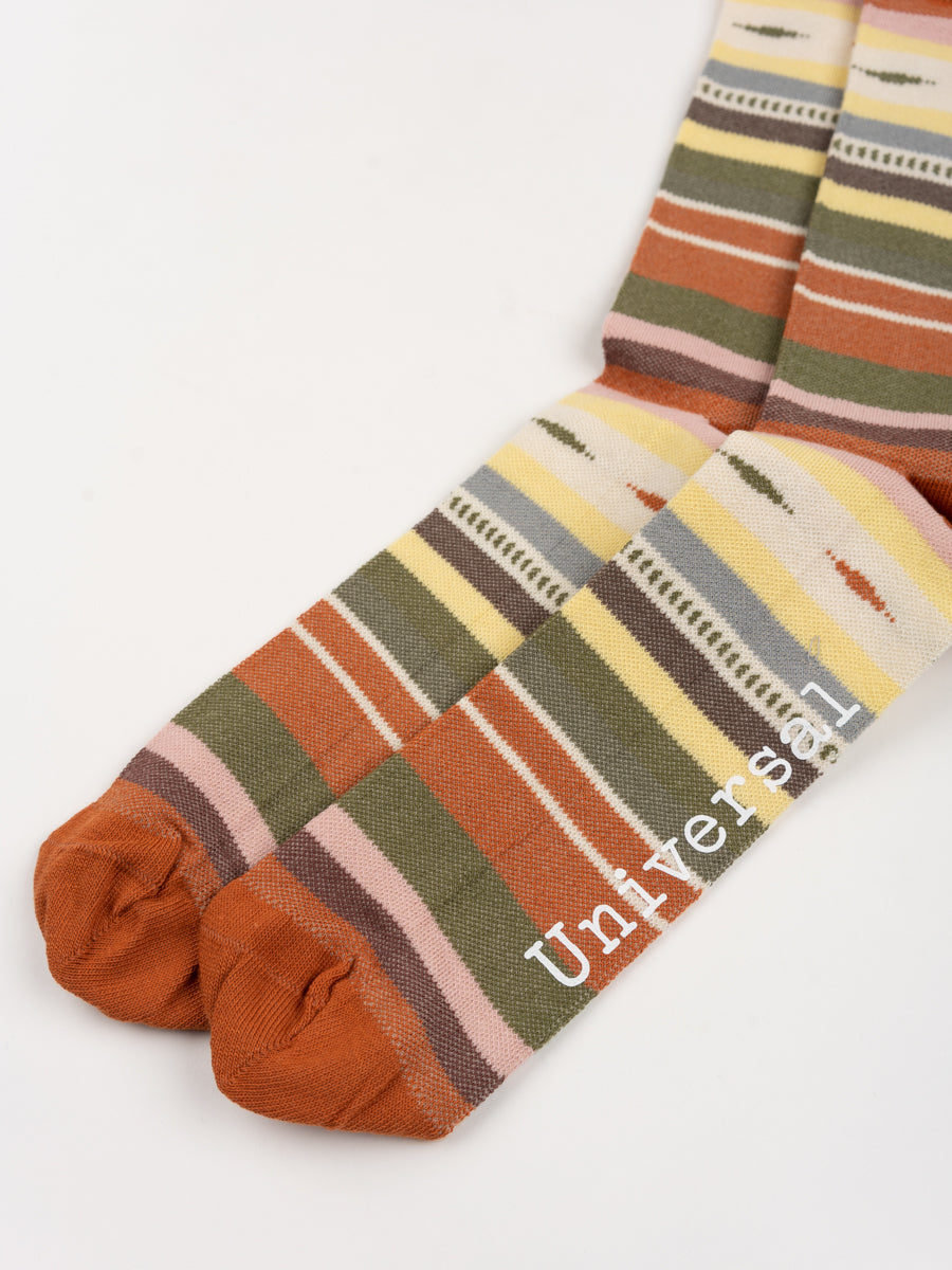 Blanket Stripe Sock Multi Blanket Knit