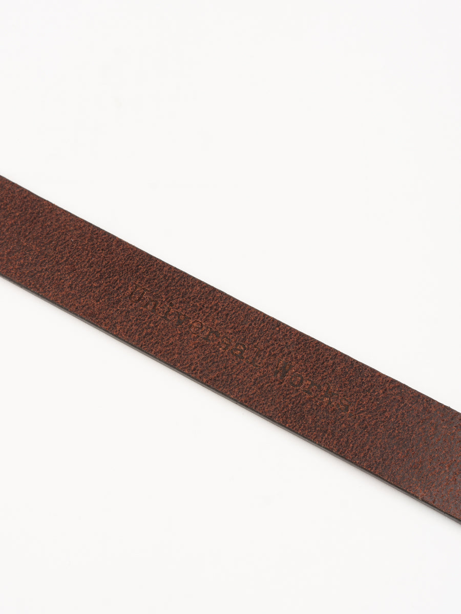 Everyday Belt Dark Brown Leather