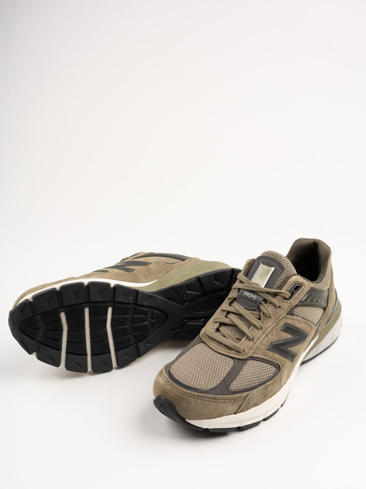 m990ae5, olive, new balance, sole detial